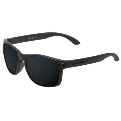 NORTHWEEK Bold Matte Black/Black Polarized