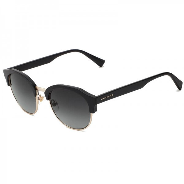 HAWKERS Rubber Black - Dark Classic Rounded / Polarized