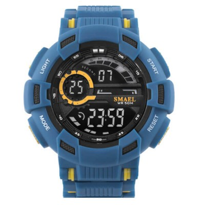 SMAEL 1366B Sports Watch Military Dual Display - Blue