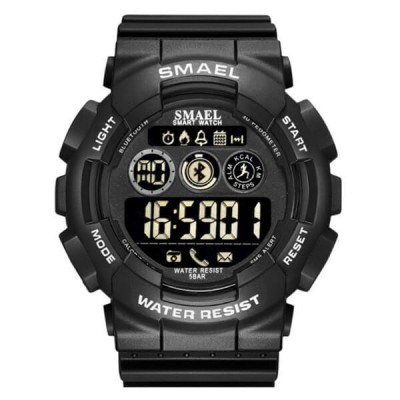 SMAEL 8013LY Smartwatch Bluetooth -Black