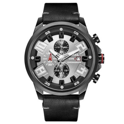 SMAEL 9080 Sports Watch Military Dual Display - Black