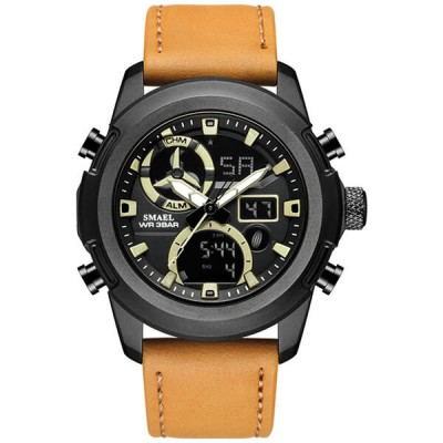 SMAEL 1426 Sports Watch Military Dual Display - Orange