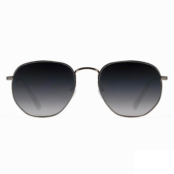 D.Franklin Classic Hexagon Gunmetal Grad Black - DFKSUN0415