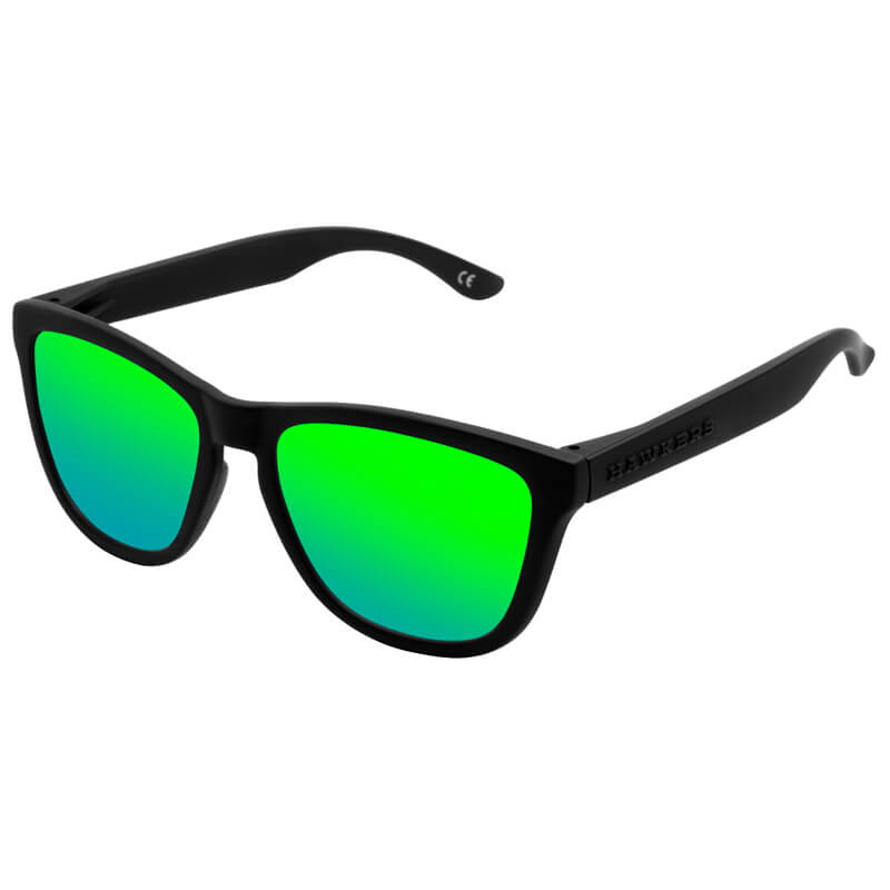 HAWKERS Carbon Black - Emerald One / Polarized
